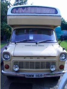 Mk1 Ford transit V4 CI motorhome restoration and repair