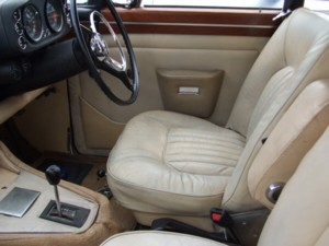Rover p5b interior finished.